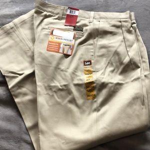 Lee men's khaki slacks